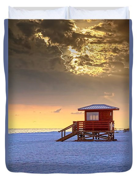 Life Guard 1 Duvet Cover