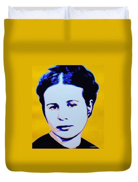 Life In A Jar. Irena Sendler Duvet Cover