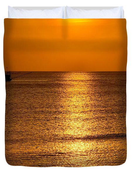 Life Is Beautiful Duvet Cover by Adrian Evans