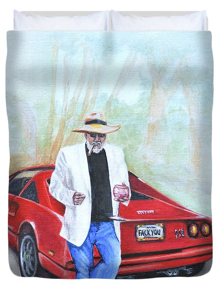Life Is Good Duvet Cover by Victor Minca