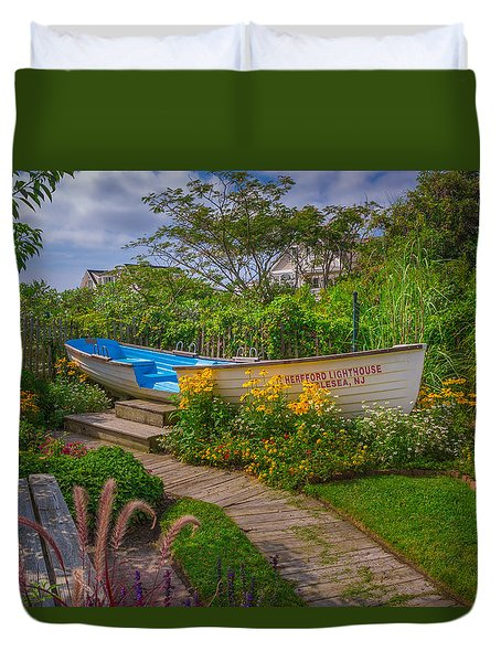 Lifeboat Seating Duvet Cover