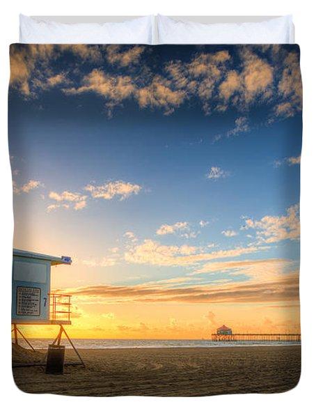 Lifeguard Off Duty Duvet Cover