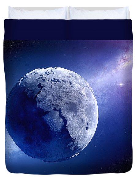 Lifeless Earth Duvet Cover by Johan Swanepoel