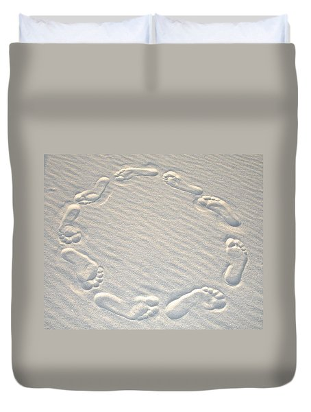 Life's A Beach Duvet Cover by Charlie and Norma Brock