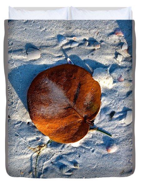 Life's A Beach Duvet Cover