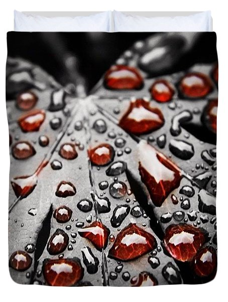 Life's Blood Duvet Cover