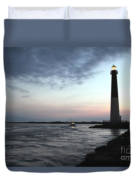 Duvet Cover featuring the photograph Light At Dawn by David Jackson