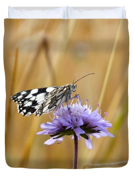 Light Butterfly Duvet Cover