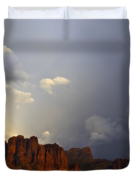 Light From Above Duvet Cover