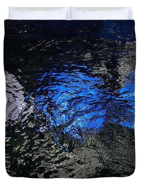 Light From Below Duvet Cover