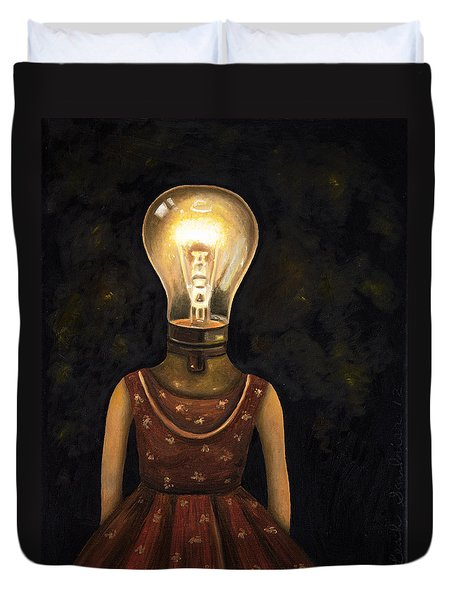 Light Headed Duvet Cover by Leah Saulnier The Painting Maniac