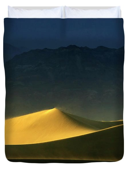 Light Is Everything Duvet Cover by Bob Christopher