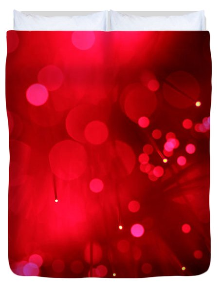 Light My Fire Duvet Cover