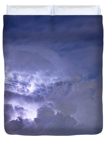 Light Show Duvet Cover by James BO  Insogna