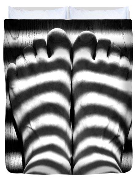 Light Socks Duvet Cover