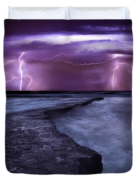 Light Symphony Duvet Cover by Jorge Maia