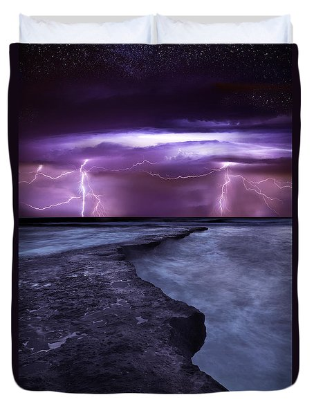 Light Symphony Duvet Cover