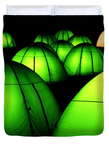 Light Tents Variation Five Duvet Cover