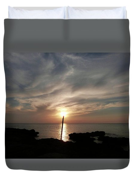 Light The Sun Duvet Cover by Amar Sheow
