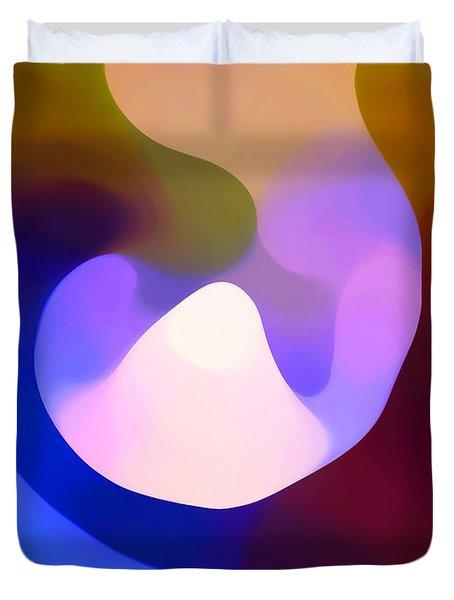 Light Through Branch Duvet Cover by Amy Vangsgard