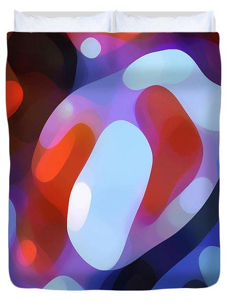 Light Through Fall Leaves Duvet Cover by Amy Vangsgard