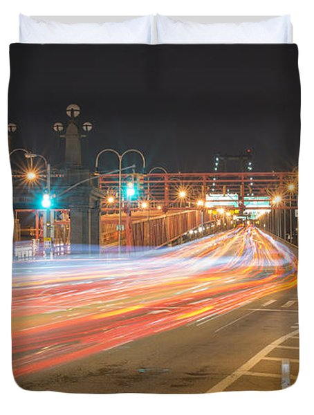 Light Traffic Duvet Cover