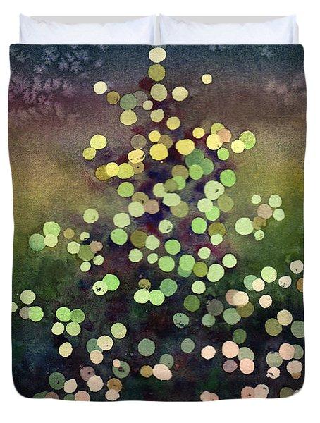 Light Up The Season Duvet Cover