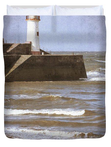Lighthouse Duvet Cover by Amanda Elwell