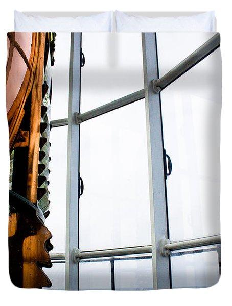 Lighthouse Lens Duvet Cover