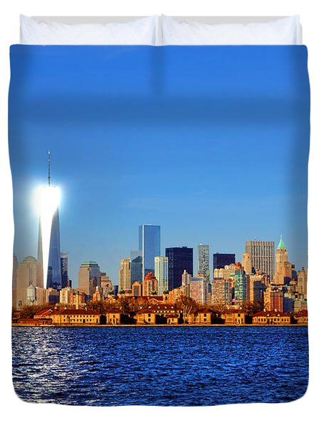 Lighthouse Manhattan Duvet Cover