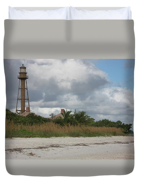 Sanibel Island Light Duvet Cover by Christiane Schulze Art And Photography