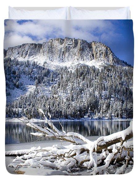 Lightly Powdered Duvet Cover by Chris Brannen