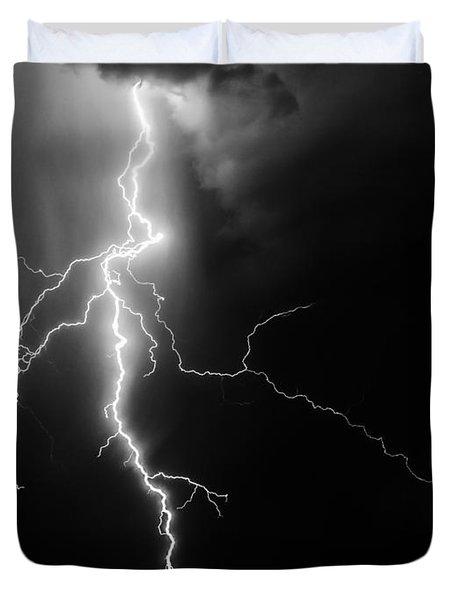 Lightning Abstract Duvet Cover