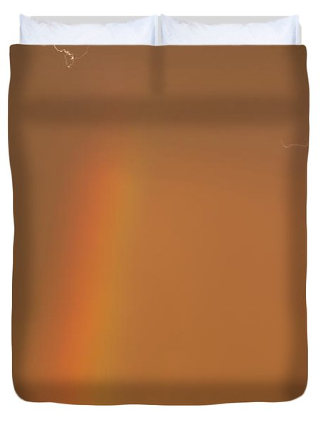 Lightning And Rainbow Duvet Cover