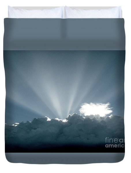 Lightplay Duvet Cover by Amar Sheow