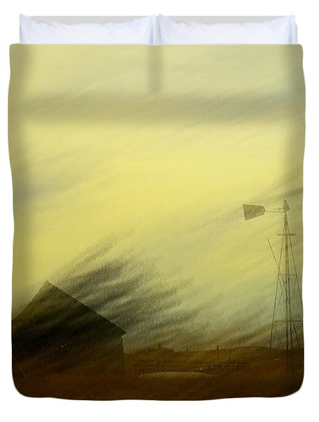 Like A Memory In The Wind Duvet Cover by Jeff Swan