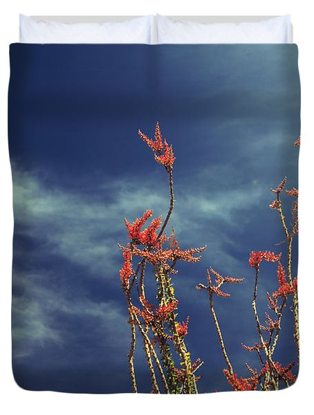 Like Flying Amongst The Clouds Duvet Cover
