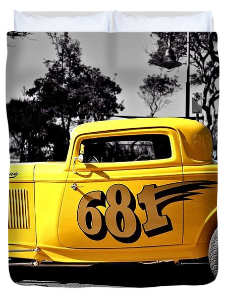 Lil' Deuce Coupe Duvet Cover