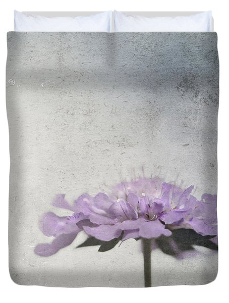Duvet Cover featuring the photograph Lilac by Annie Snel