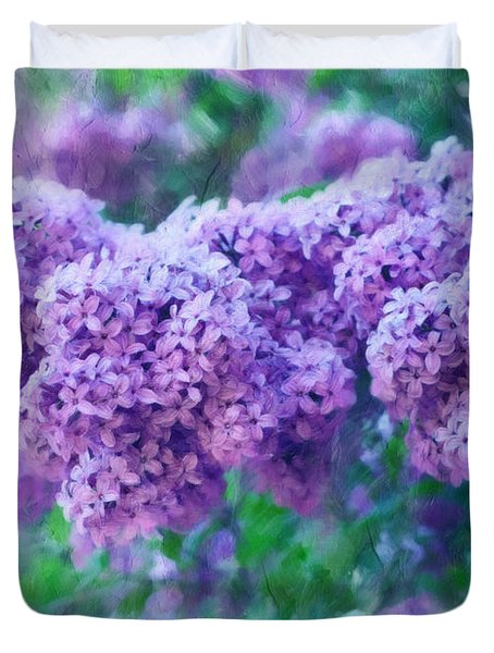 Lilac Cadenza Duvet Cover