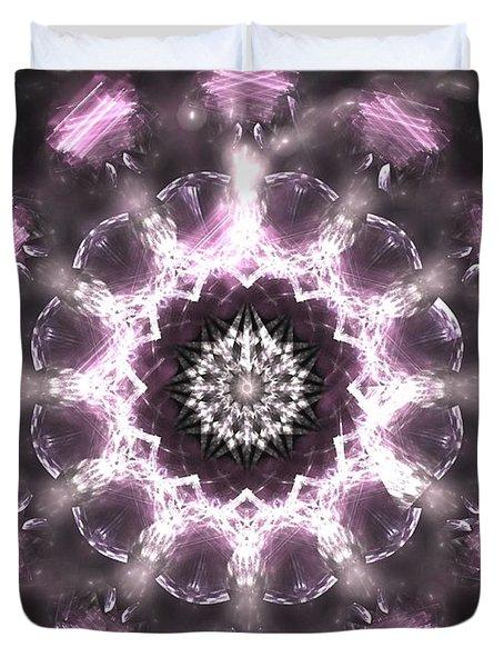 Lilac Essence Duvet Cover