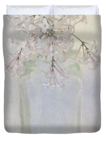 Lilac Flower Duvet Cover