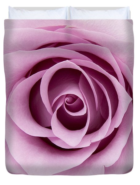 Lilac Rose Duvet Cover