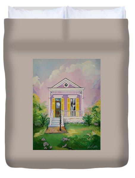 Lilac Shotgun Duvet Cover