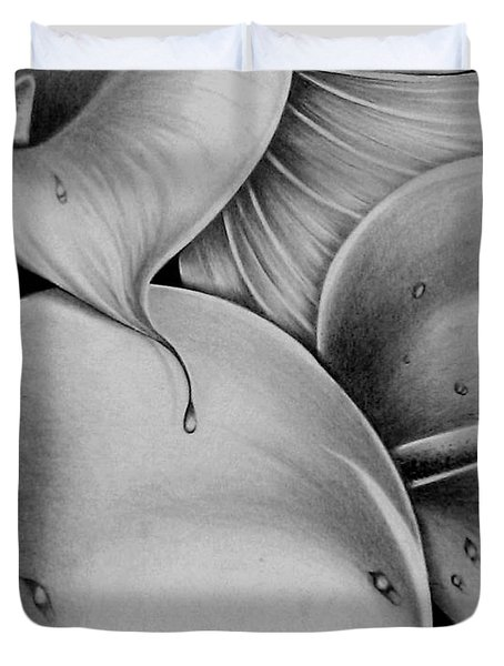 Lilies 3 Duvet Cover