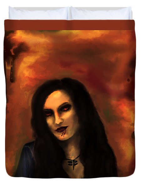 Lilith Duvet Cover