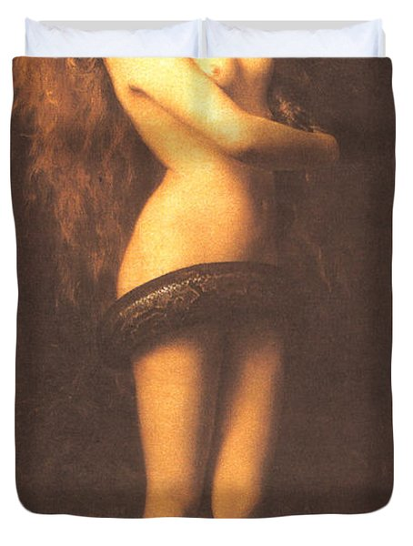 Lilth Duvet Cover by John Collier