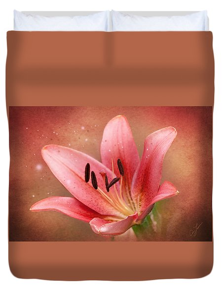 Lily Duvet Cover by Ann Lauwers
