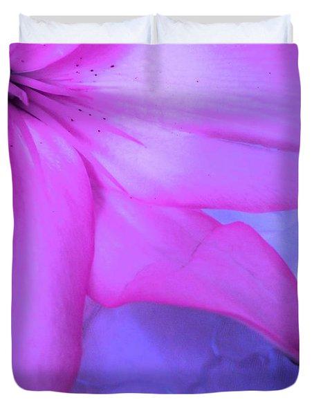 Lily - Digital Art Duvet Cover