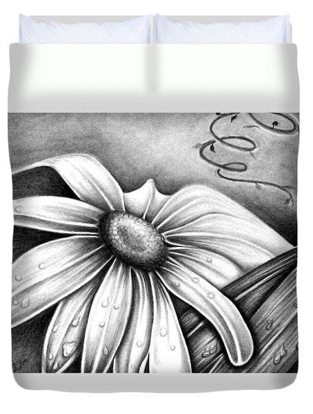 Lily Flower Duvet Cover
